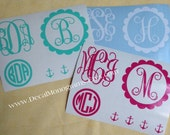 Fun Sample Pack of Monogram Decals