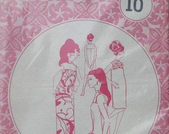 Pacifica Hawaiian Muu Muu Dress Pattern 3021