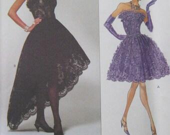 Vogue Victor Costa Dress Pattern 2877