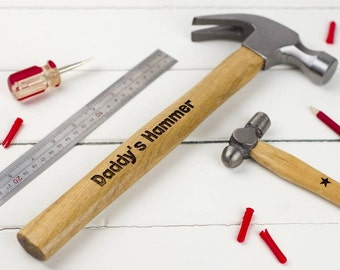 Personalised Big Hammer And Little Hammer Set