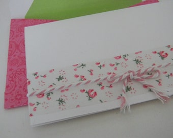 Bright Love Handcrafted envelopes