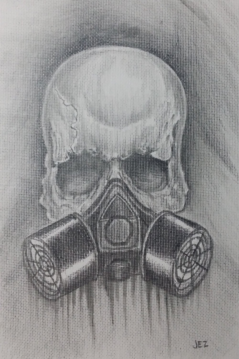 Skull Gas Mask Drawings Skull Gas Mask is it Ever