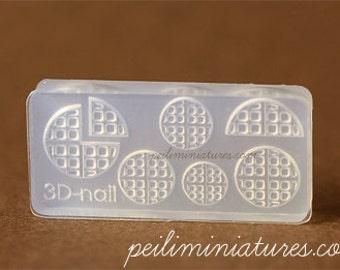Miniature Waffle Mold