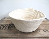 Natural Rope Basket