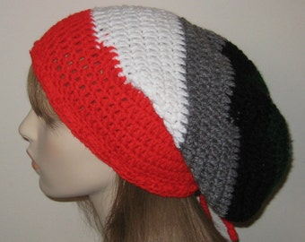 One of a Kind Slouchy Beanie Dread Hat