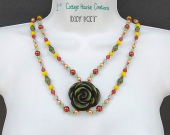 Summer Solstice Boho Necklace Kit