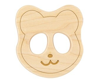 Panda Wood Toy Teether