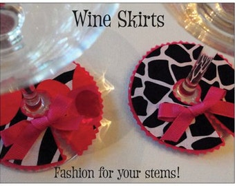 12 Funky Wine Skirts Party Favor Package
