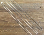 "Sterling Silver Cable Chain - Very Fine - 16"" Chain, 18"" Chain, 20"" Chain"
