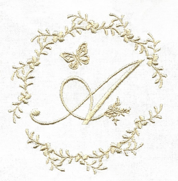 FRENCH WHITEWORK FONT Machine Embroidery Designs