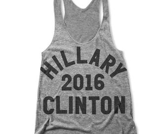 Hillary Clinton For President 2016 (Women's Racerback Tank)