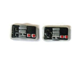 Nintendo NES Controller Stud Earrings