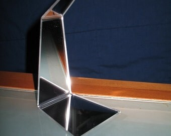 Mirrored Hanging Display Stand
