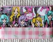 AKB48 Pink J-Pop Manga Zipper Pouch