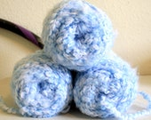 Yarn, Lot, Red Heart, Baby Clouds, New, Bulky, Blue Sky, Acrylic, Free Shipping in the US. 9 dollars for all 3