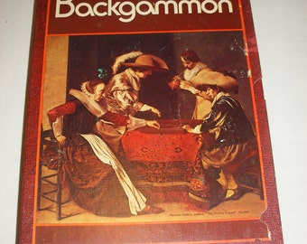 Vintage 3M Bookshelf Game Backgammon The Game of Kings Classic Game from 1973 100% Complete
