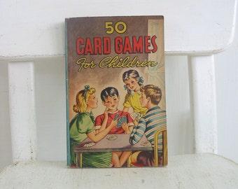 Vintage Child Book 50 Card Games