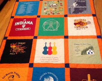 18 tshirt quilt