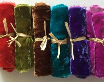 Silk Velvet silk velvet fabric hand dyed velvet hand dyed silk velvet velvet
