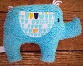 Elly Plush Upcycled Elephant