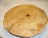 Cottonwood Lazy susan log end slice