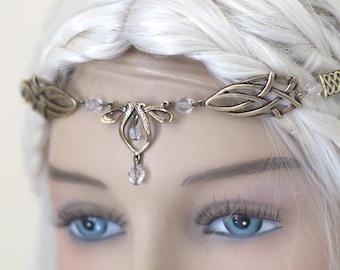 Érin Celtic Circlet Medieval Faery Tiara Bronze