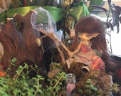 For Fidelia Fuuga Isilmë CCC Firefly Faerie Butterfly Catch and Release Net and Jar