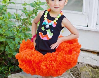 Sweetheart Pettiskirt - Orange - Perfect for Portraits and Costume Embellishment
