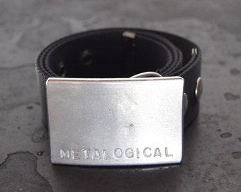 Groomsman Gift, Wedding Favor - Belt Buckle - Personalized Stainless Steel