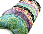 Warm Cool Pack Eye Pillows, Bulk Special Event Gifts,  Wholesale, Mixed Lot of Eight Eye Packs, Aromatherapy Lavender Herbal or Unscented