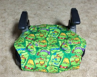 Ninja Turtles  toddler booster seat cover--booster seat not included