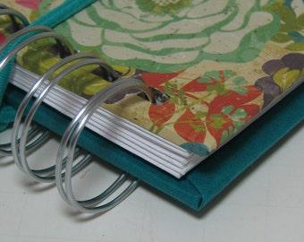 Mini Envelope Wallet/ Cash Envelope Wallet/ Envelope System Wallet/ Envelope System/ Budget Wallet / Cash System/ FPU/ Floral Turquoise