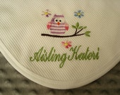 ON SALE Aisling Personalized Blanket - First and Last Name or up to 3 Initials