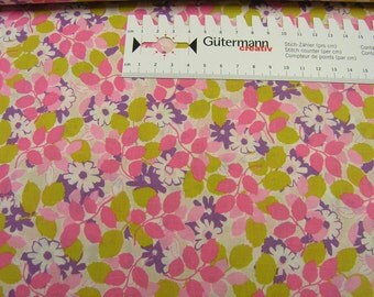Robert Kaufman • London Calling 5 • pink  Cotton Fabric 0.54yd (0,5m) 002162