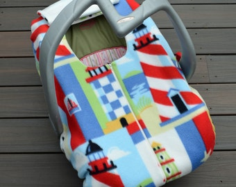 buckeye carseat cover for baby ohio state buckeyes by sophiemarie. Black Bedroom Furniture Sets. Home Design Ideas