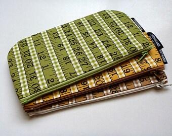 long zipper pouches - pen pouches - ready to ship - kawaii - 3 pouches set