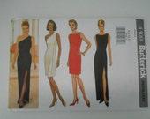 Off The Shoulder Dress Pattern Butterick 4300 Size 6 8 10 12 Bust 30 1/2 31 1/2 32 1/2 34 UNCUT
