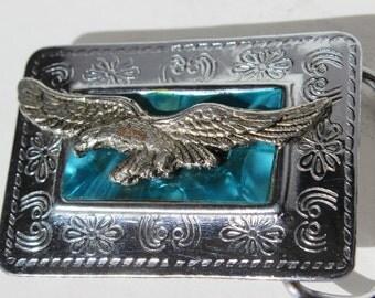 Vintage Belt Buckle American Eagle