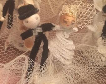 Vintage Antique Lot of Wedding Favors