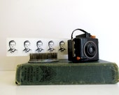 Vintage Baby Brownie Special Camera 1940's Camera Bakelite Black Camera Butterscotch Trim