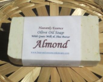 Almond Goat Milk Castile Soap