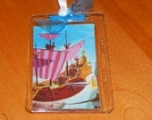 Luggage Bag Tag ID Holder Disney Peter Pan