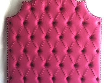Twin Size Upholstered Headboard Magenta Headboard Pink Tufted Headboard Twin Headboard Hot Pink Headboard Twin headboard Upholstered