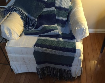 Blue Doctor who Scarf