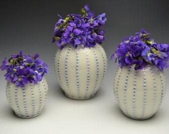 Small Dot Bud Vase