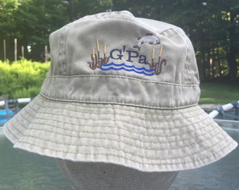 Adult Bucket Sun Fishing Hat Personalized