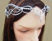 Elven Circlet VANIMA Celtic Hand Wire Wrapped - Choose Your Own COLOR - Crown Tiara