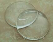 30 Pack 38mm Circle Glass Cabochon (09-11-710)