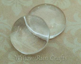 200 Pack Glass Circle Cabochon 12mm  (09-11-640)