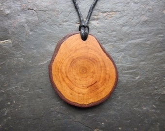 Natural Wood Pendant - Alder - for Faery Magic.